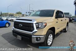 2019_Toyota_Tundra 4WD_SR5 / 4X4 / Crew Max / Power Driver's Seat / Lane Departure Alert / Forward Collision Warning / Bluetooth / Back Up Camera / Aluminum Wheels / Bed Liner / Tonneau Cover / Tow Pkg / 1-Owner_ Anchorage AK