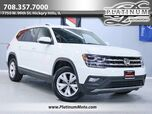 2019 Volkswagen Atlas 3.6L V6 SE w/Technology Back Up Camera Leather Keyless Go Power Seat Third Row Loaded