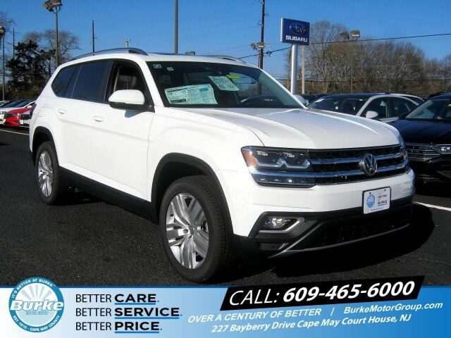 2019 Volkswagen Atlas 3 6l V6 Sel Cape May Court House Nj 27415672