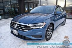 2019_Volkswagen_Jetta_SE / Heated Leather Seats / Blind Spot Alert / Bluetooth / Back Up Camera / Cruise Control / 40 MPG / 1-Owner_ Anchorage AK