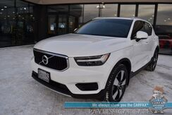 2019_Volvo_XC40_Momentum / AWD / Heated Leather Seats / Heated Steering Wheel / Panoramic Sunroof / Navigation / Adaptive Cruise Control / Lane Departure & Blind Spot Alert / Bluetooth / Back Up Camera / 31 MPG / 1-Owner_ Anchorage AK