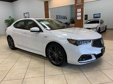 2020_Acura_TLX_A-Spec Red 2.4L RED ROSSO LEATHER INTERIOR_ Charlotte NC