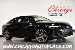 2020_Audi_S5 Coupe_Prestige - 3.0L TFSI 6-CYL ENGINE ALL WHEEL DRIVE NAVIGATION TOP VIEW CAMERAS RED LEATHER HEATED SEATS CARBON FIBER INTERIOR TRIM SUNROOF KEYLESS GO_ Bensenville IL