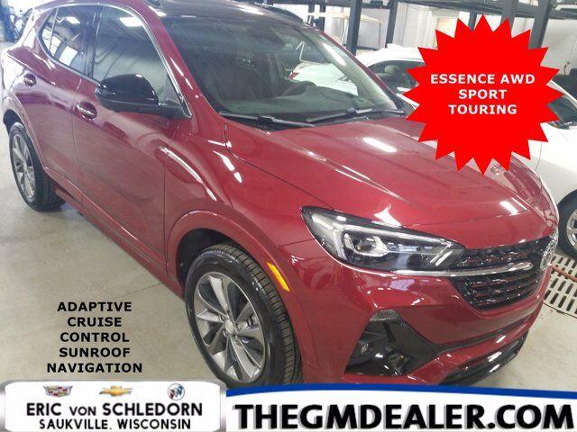 2020 Buick Encore GX Essence AWD ST ExpBuick AdvTech Hands-FreePwrLftgtPkgs w/AdptvCruise Sunroof Nav HD-SrrndVsn Milwaukee WI