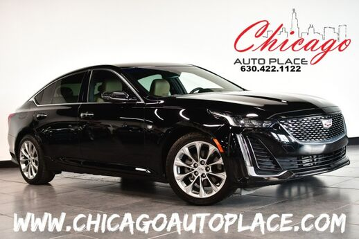 2020 Cadillac CT5 Premium Luxury - 2.0L TWIN-SCROLL TURBO 4-CYL ENGINE NAVIGATION BACKUP CAMERA KEYLESS GO TAN LEATHER HEATED/COOLED SEATS Bensenville IL
