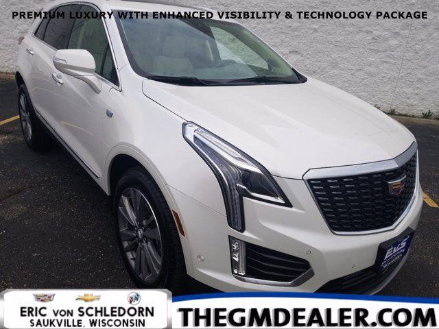 2020 Cadillac XT5 Premium Luxury FWD EnhVisbty&TechPkg w/Sunroof Nav Bose HtdCldMemLthr 20s RrCamMirror HD-SrrndVsn Milwaukee WI