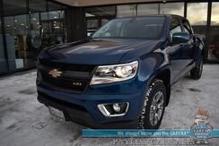 2020_Chevrolet_Colorado_Z71 / 4X4 / Duramax Turbo Diesel / Crew Cab / Auto Start / Heated Leather Seats / Heated Steering Wheel / Bluetooth / Back Up Camera / Apple CarPlay & Android Auto / Tonneau Cover / Bed Liner / Tow Pkg / 1-Owner_ Anchorage AK