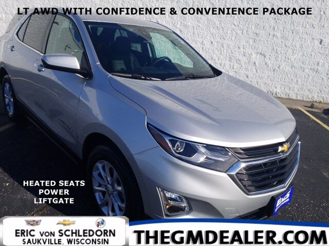 2020 Chevrolet Equinox LT AWD 1.5L Turbo Confidence&ConveniencePkg w/HtdCloth PowerLiftgate RearCamera Milwaukee WI