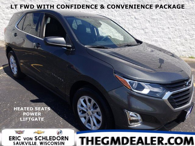 2020 Chevrolet Equinox LT FWD 1.5L Turbo Confidence&Convenience FloorLinerPkgs w/HtdCloth BlackBowties PwrLiftgate RearCam Milwaukee WI
