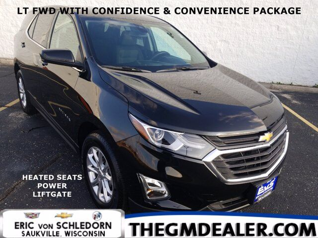 2020 Chevrolet Equinox LT FWD 1.5L Turbo Confidence&ConveniencePkg w/HtdCloth PowerLiftgate RearCamera Milwaukee WI
