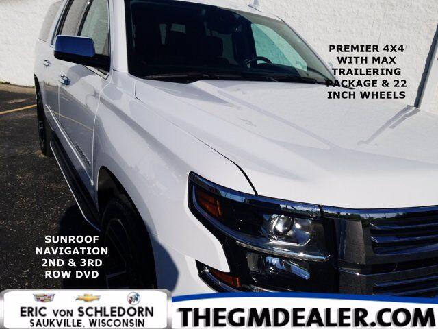 2020 Chevrolet Suburban Premier 4WD MaxTraileringPkg w/AdaptiveCruise 22s Sunroof Nav 2nd&3rdRowDVD Milwaukee WI