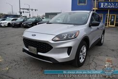 2020_Ford_Escape_S / AWD / Lane Departure & Blind Spot Alert / Bluetooth / Back Up Camera / Cruise Control / 31 MPG_ Anchorage AK