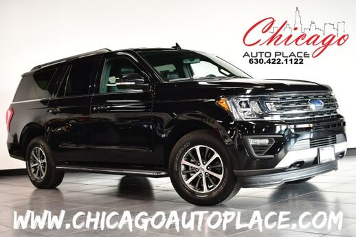2020 Ford Expedition Max XLT - 3.5L ECOBOOST V6 ENGINE 4 WHEEL DRIVE NAVIGATION BACKUP CAMERA BLACK LEATHER HEATED/COOLED SEATS 3RD ROW SEATS POWER LIFTGATE KEYLESS GO Bensenville IL