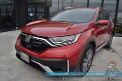 2020_Honda_CR-V_Touring / AWD / Auto Start / Heated Leather Seats / Adaptive Cruise / Lane Departure & Blind Spot / Navigation / Sunroof / Bluetooth / Back Up Camera / 32 MPG / 1-Owner_ Anchorage AK