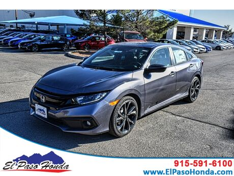 2020 Honda Civic Sedan SPORT CVT El Paso TX