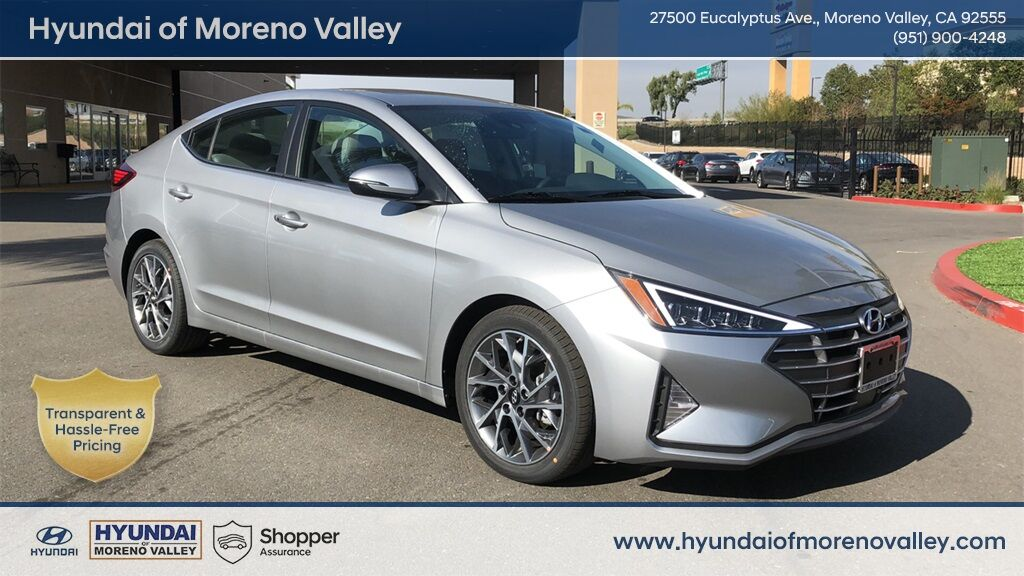 2020 Hyundai Elantra Limited Moreno Valley CA