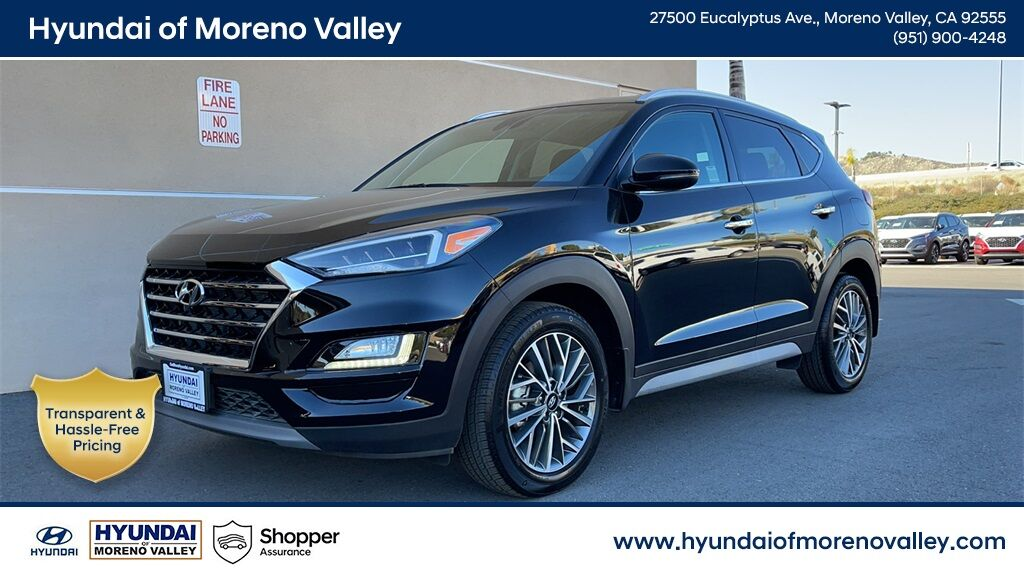 2020 Hyundai Tucson Limited Moreno Valley CA