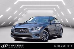 2020_INFINITI_Q50_3.0t LUXE Leather Roof Backup Camera Low Miles Warranty._ Houston TX