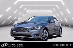 INFINITI Q50 3.0t LUXE Leather Roof Backup Camera Low Miles Warranty. 2020