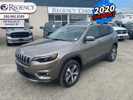 2020 Jeep Cherokee Limited  - Luxury Interior Quesnel BC