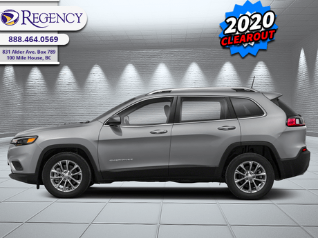 2020 Jeep Cherokee North  - Rugged Design -  Bluetooth 100 Mile House BC