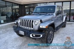 2020_Jeep_Gladiator_Overland / 4X4 / Auto Start / Heated Leather Seats / Heated Steering Wheel / Navigation / Bluetooth / Back Up Camera / Tonneau Cover / Bed Liner / Tow Pkg / 23 MPG / 1-Owner_ Anchorage AK