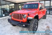 2020 Jeep Gladiator Rubicon / 4X4 / Crew Cab / Auto Start / Heated Leather Seats / Heated Steering Wheel / Navigation / Adaptive Cruise Control / Blind Spot Alert / Bed Liner / Tonneau Cover / Tow Pkg / 1-Owner