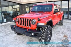 2020_Jeep_Gladiator_Rubicon / 4X4 / Crew Cab / Auto Start / Heated Leather Seats / Heated Steering Wheel / Navigation / Adaptive Cruise Control / Blind Spot Alert / Bed Liner / Tonneau Cover / Tow Pkg / 1-Owner_ Anchorage AK