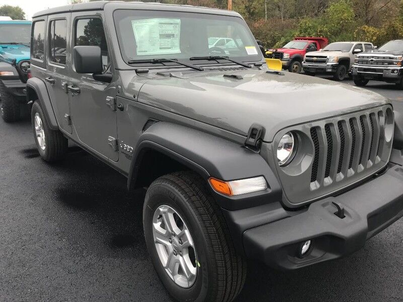 2020 Jeep Wrangler UNLIMITED SPORT S 4X4 Little Valley NY
