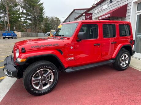 2020 Jeep Wrangler Unlimited Sahara Marshfield MA