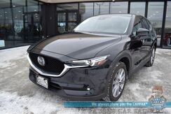 2020_Mazda_CX-5_Grand Touring / AWD / Heated Leather Seats / Sunroof / Navigation / Bose Speakers / Adaptive Cruise Control / Lane Departure & Blind Spot Alert / Keyless Entry & Start / Bluetooth / Back Up Camera / 30 MPG / 1-Owner_ Anchorage AK