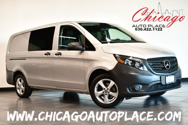 2020 Mercedes-Benz Metris Cargo Van 2.0L I-4 TURBO ENGINE 1 OWNER BLACK LEATHER BACKUP CAMERA AUTO/START STOP FEATURE BLUETOOTH CONNECTIVITY Bensenville IL