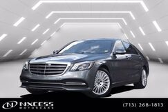 2020_Mercedes-Benz_S-Class_S 560 Sport Package Only 1K Miles Rear Power Seats Loaded._ Houston TX