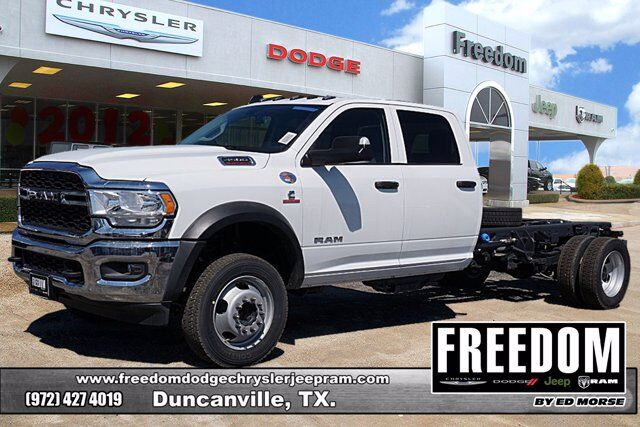 "2020 Ram 4500 Chassis Cab TRADESMAN CHASSIS CREW CAB 4X2 84 CA"" Duncanville TX"
