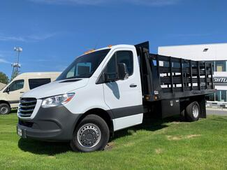 Sprinter 4500 2WD Flat Bed Cab Chassis  2020