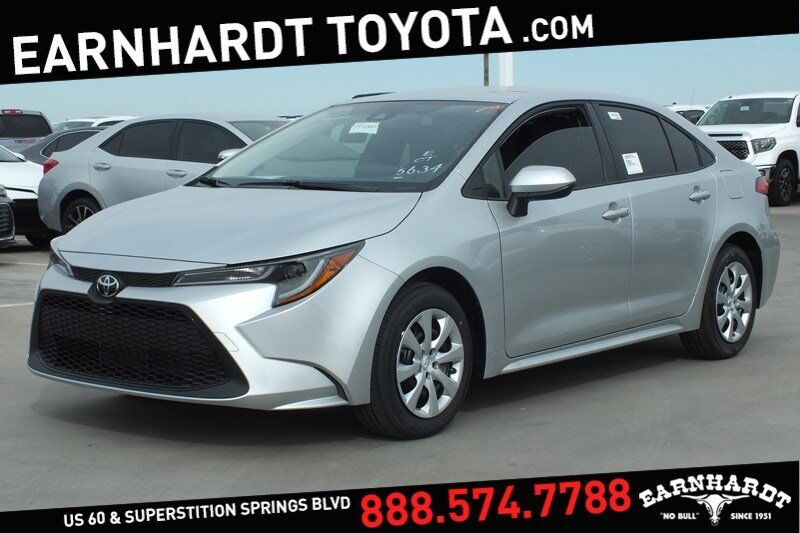Vehicle Details 2020 Toyota Corolla At Earnhardt Mesa