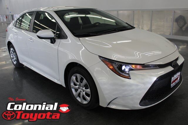 Toyota Corolla Mpg >> Vehicle Details 2020 Toyota Corolla At Colonial Toyota Milford