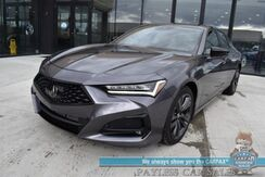2021_Acura_TLX_A-Spec / AWD / Heated & Cooled Leather Seats / Navigation / Sunroof / ELS 3D Sound / Adaptive Cruise / Blind Spot & Collision Alert / Wireless Charger / Bluetooth / Back Up Camera / Keyless Entry & Start / 1-Owner_ Anchorage AK