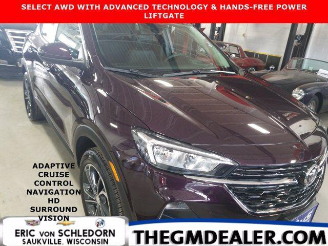 2021 Buick Encore GX Select AWD AdvancedTechnology Hands-FreePwrLiftgatePkgs w/AdptvCruise Nav HtdCloth HD-SrrndVsn Milwaukee WI