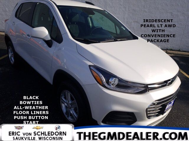 2021 Chevrolet Trax LT AWD ConveniencePkg w/FloorLiners BlackBowties PushButtonStart RearCamera Milwaukee WI