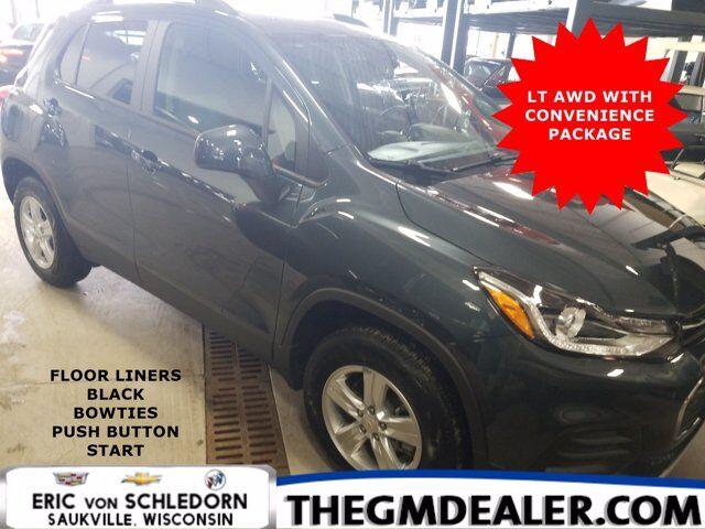 2021 Chevrolet Trax LT AWD ConveniencePkg w/FloorLiners BlackBowties PushButtonStart RearCamera Milwaukee WI