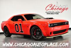 2021_Dodge_Challenger_R/T Scat Pack Widebody - 6.4L V8 SRT HEMI ENGINE 6-SPEED MANUAL TRANSMISSION BACKUP CAMERA BLACK LEATHER/SUEDE HEATED/VENTED SEATS HEATED STEERING WHEEL KEYLESS GO_ Bensenville IL