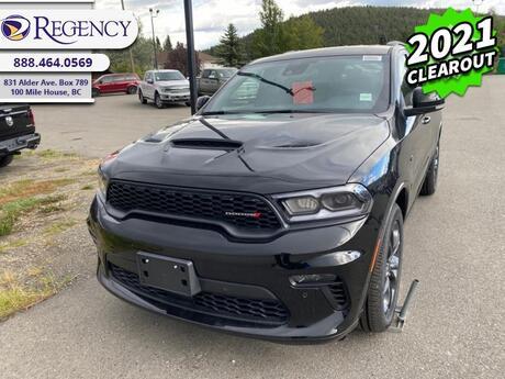 2021 Dodge Durango R/T  - Leather Seats -  Navigation - $363 B/W 100 Mile House BC