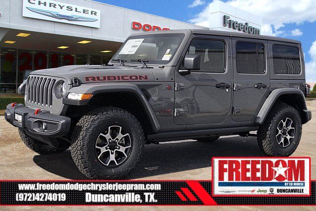 2021 Jeep Wrangler UNLIMITED RUBICON 4X4 Duncanville TX