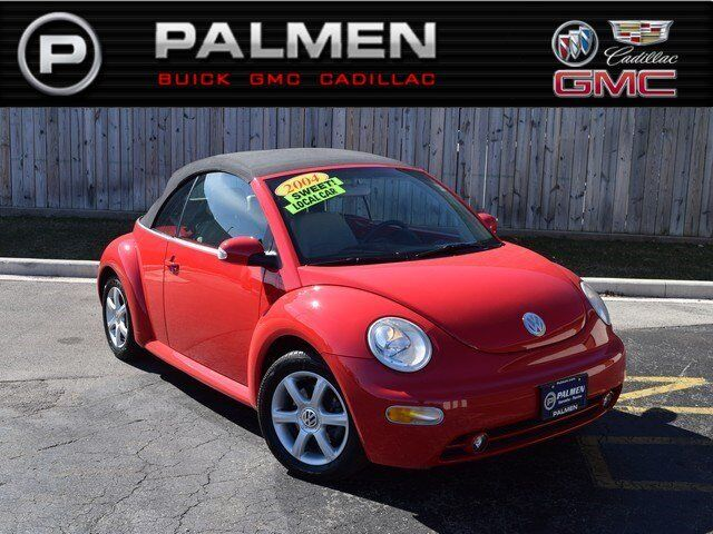 2004 volkswagen new beetle convertible gls turbo kenosha. Black Bedroom Furniture Sets. Home Design Ideas