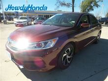 2016 Honda Accord LX Austin TX