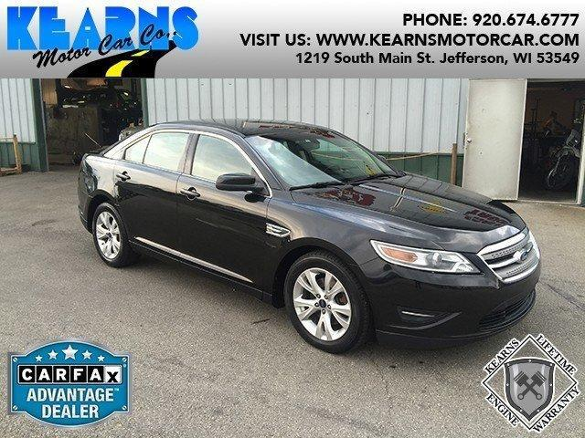 2010 ford taurus sel in jefferson wi used cars for sale for Jefferson ford motor company