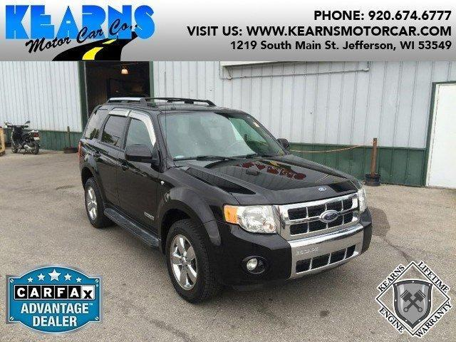 2008 ford escape limited in jefferson wi used cars for for Jefferson ford motor company