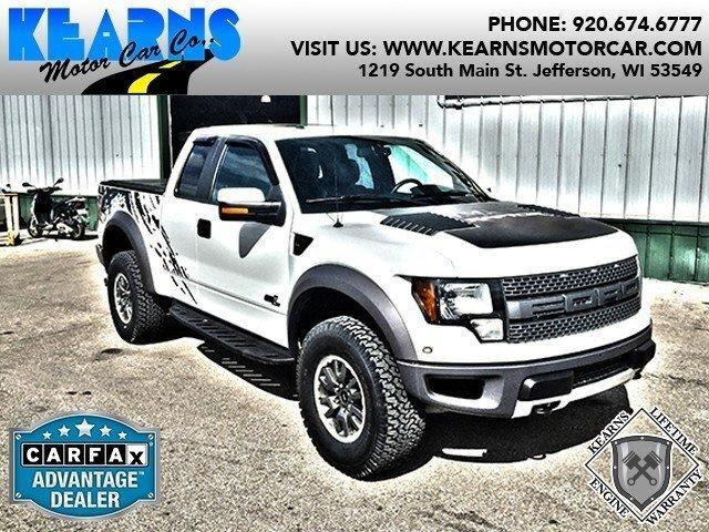 2011 ford f 150 svt raptor in jefferson wi used cars for Jefferson ford motor company