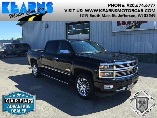 2014 chevrolet silverado 1500 high country in jefferson wi used cars for sale on. Black Bedroom Furniture Sets. Home Design Ideas